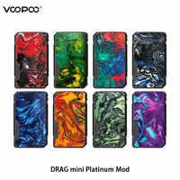 Nouveau VOOPOO glisser Mini platine Mod 117w TC boîte Mod 4400mAh gène. FIT puce Cigarette électronique Vape Vs glisser 2 Mod vaporisateur