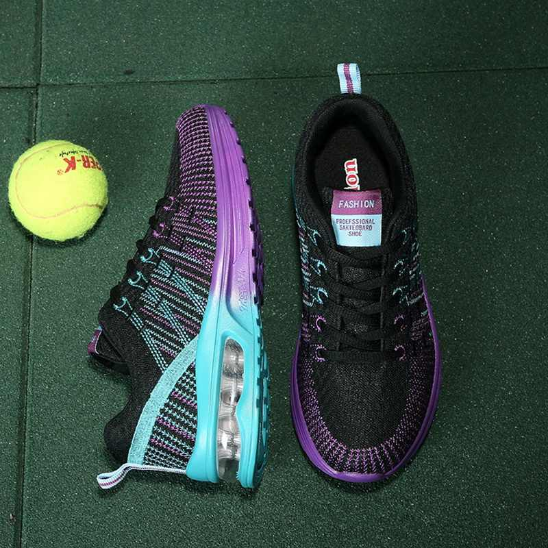 ผู้หญิงรองเท้าเทนนิส Sportwear ฟิตเนสแฟชั่น Breathable วิ่งรองเท้าขนาด 35-42 2020 Casual กีฬากลางแจ้งรองเท้า Feminino