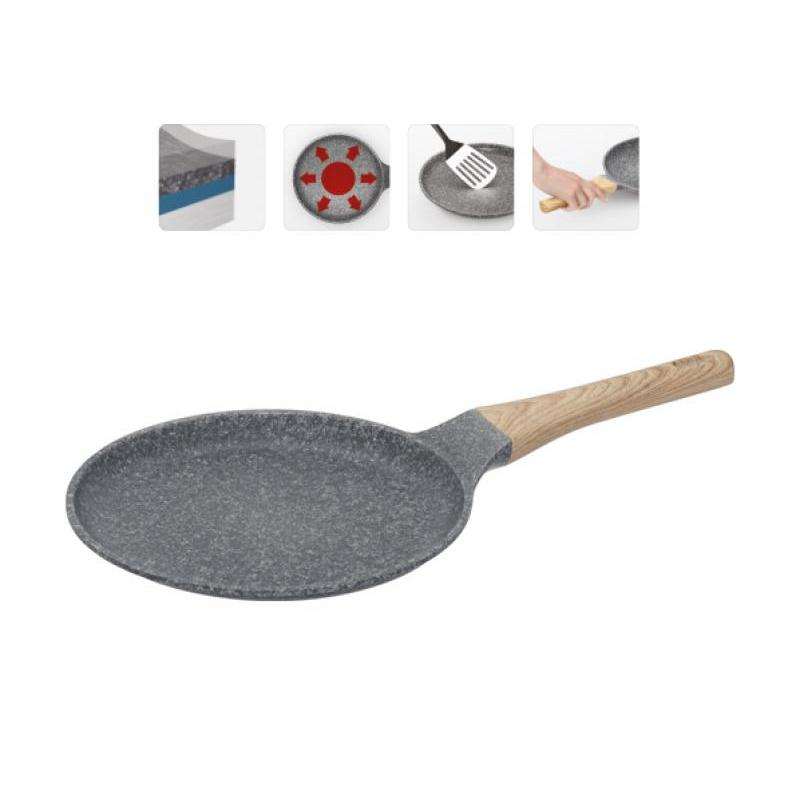 Frying Pan griddle NADOBA, Mineralica, 24 cm frying pan griddle nadoba grana 28 cm