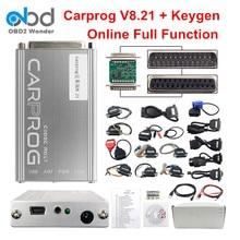 New Carprog V8.21 Online Version Auto Repair Tool Full Set Car prog Firmware 8.21 ECU Chip Tuning Tool Better Than Carprog 10.93