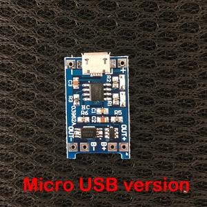 Image 3 - 3.7 فولت ليثيوم شاحن بطارية لوح حماية 5 فولت 1A 2A ليثيوم أيون يبو بطارية شحن حماية اثنين في واحد وحدة المصغّر USB Type C