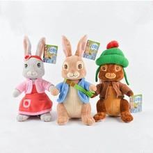 New Movie Cartoon Peter Rabbit Series Cartoon Characters Petering Lily Ben Rabbit Plush Toy Dolls 13-46cm