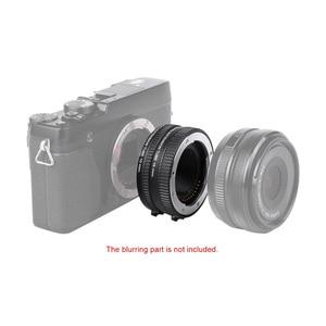 Image 2 - Viltrox DG FU Messa A Fuoco Automatica AF Tubo di Prolunga Anello di 10 millimetri 16 millimetri Set di Montaggio In Metallo per Fujifilm X Mount Macro lente