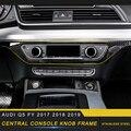 Автомобильные аксессуары  центральная консоль  кнопочный переключатель  накладка  рамка  наклейка  украшение интерьера для Audi Q5 FY 2017 2018 2019