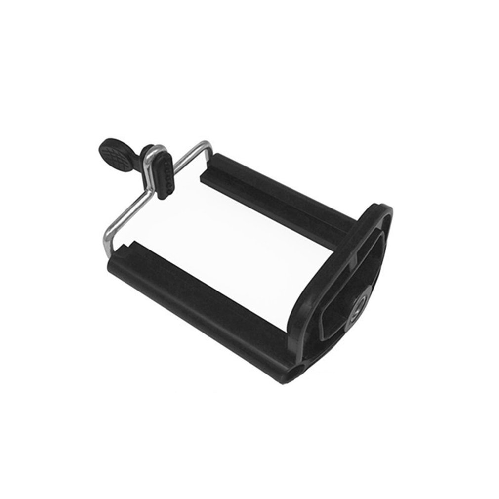 Retractable Universal Design Tripod Monopod Mobile Phone U Clip Mount Holder Bracket Mobile Clip Clamp Holder for Smartphone