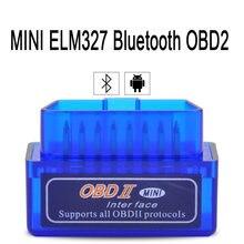 Bluetooth v1.5/v2.1 pic18f25k80 mini elm327 327 obd2 scanner obd ferramenta de diagnóstico do carro leitor de código para android