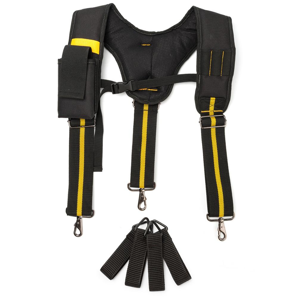 Heavy Duty Work Tool Suspender Hot Sale Y-shaped Multifunctional Tooling Strap Suspender Can Hang Tool Bags To Reduce The Load
