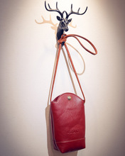 Red Luxury Leather Bag/Women Shoulder Small Bag Messenger