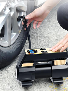 Inflator-Pumb Bicycle Car-Air-Compressor Tire Electric Protable 12V