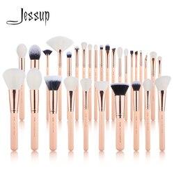 Jessup кисти 6 шт.-30 шт. набор кистей для макияжа Косметические наборы для макияжа кисть для пудры основа для макияжа Тени для век