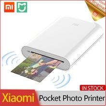 Xiaomi Mijia MI – Mini-imprimante Photo Portable AR, Kit d'impression thermique sans fil, Bluetooth, pour téléphone Portable