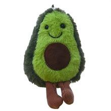 13 см фрукты авокадо кулон милая кукла брелок плюшевое растение дамская сумка Подвеска плюшевая игрушка девочка подарок детские игрушки