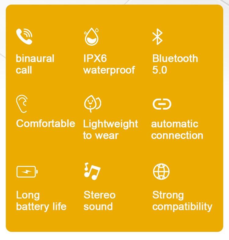 Original fones de ouvido sem fio XG-49