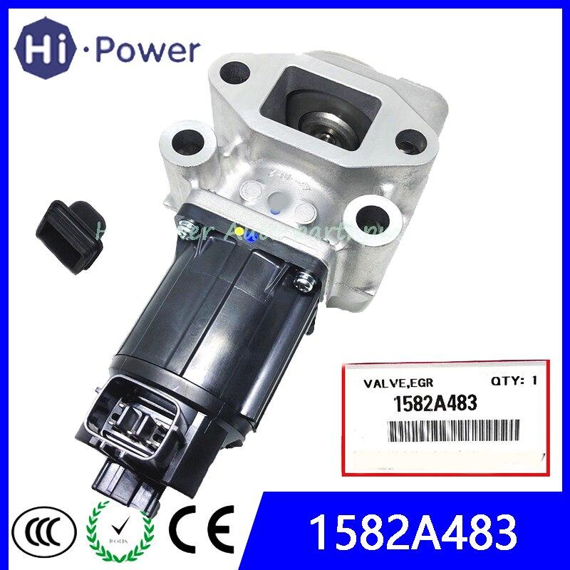 New 1582A483 1582A037 1582A038 K5T70080 EGR Valve Exhaust Gas Recirculation for Mitsubishi L200 TRITON SHOGUN NATIVA PAJERO