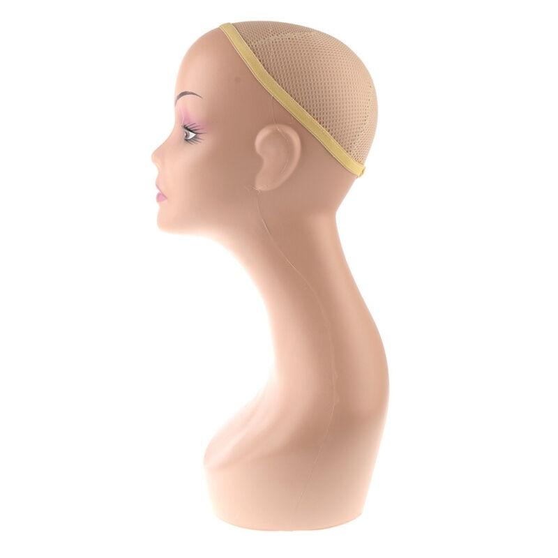 Mannequin femme Mannequin tête modèle perruque lunettes bijoux présentoir tête modèle pièces d'outils - 4