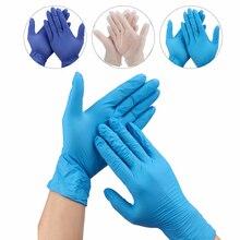100 Stks/doos Tattoo Handschoenen Wegwerp Waterdichte Tattoo Levert Handschoenen Machine Kits Vingers Protector Niet Giftig Accessoires Sets