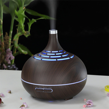 OTOKU 400ml Essential Oil Diffuser Electric Ultrasonic Aroma  Air Humidifier Fogger Mist Maker Aroma Diffuser LED Light for Home цена 2017