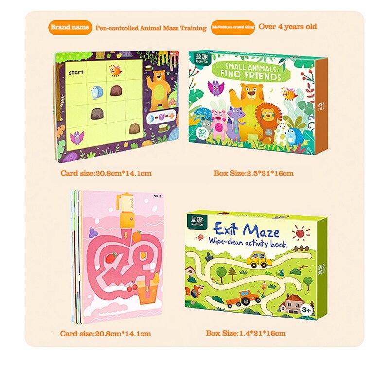 Tablet de desenho infantil montessori, brinquedos diy, jogo de matemática em cores, conjunto de livro de desenho, brinquedos educativos para crianças 2