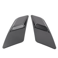 for Ford Mustang 2015-2017 Front Hood Air Intake Trim Scoop Vent Guards Heat Extractor Insert Vent