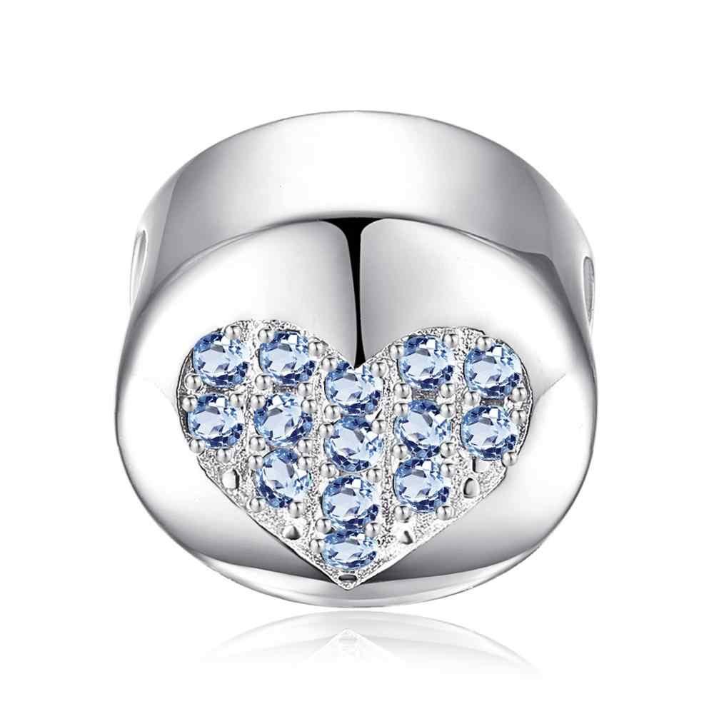 JewelryPalace Birthstone 925 srebro wisiorki z koralikami srebro 925 oryginał na bransoletkę srebro 925 oryginalne tworzenie biżuterii