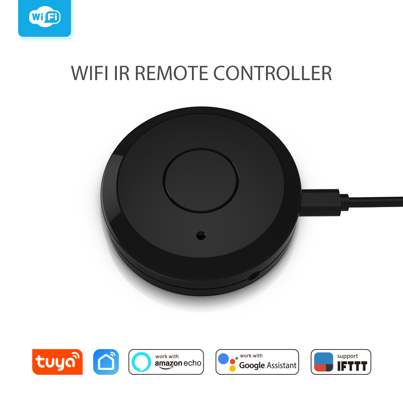 WiFi IR Remot Control Universal Smart Remote Controller For Air Conditioner TV Support Echo Google Home IFTTT