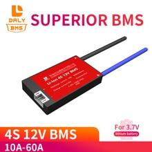 4S 12V 10A 20A 30A 40A 60A Liion Batteria Al Litio 18650 Caricabatterie PCB BMS Bordo di Protezione con Equilibrio per 14.8V 16.8V Lipo Cellulare