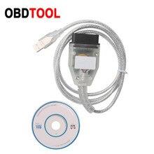 ใหม่Mileage Meter KMเครื่องมือสำหรับรถยนต์ฟอร์ดอ่านและเขียนEEPROMผ่านOBD Auto Diagostic Obd2สายเชื่อมต่ออ่านIMMOรหัส