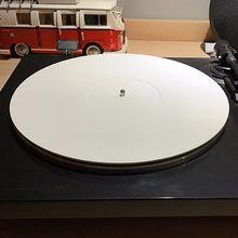Tapis de vinyle antistatique de LP de tapis de disque acrylique de 12 pouces 3MM pour des accessoires de phonographe de platine