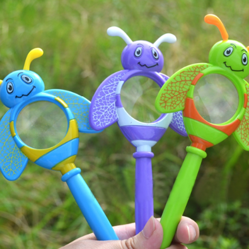 Kids Magnifier Baby Early Learning Physical Chemistry Science Experiment Educational Toy Magnifier Toys For Children Toys