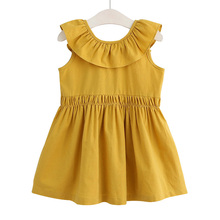 New Dresses For Girls high quality Summer Bohemian Beach  Dress Girl Kids Clothes Clothing 40