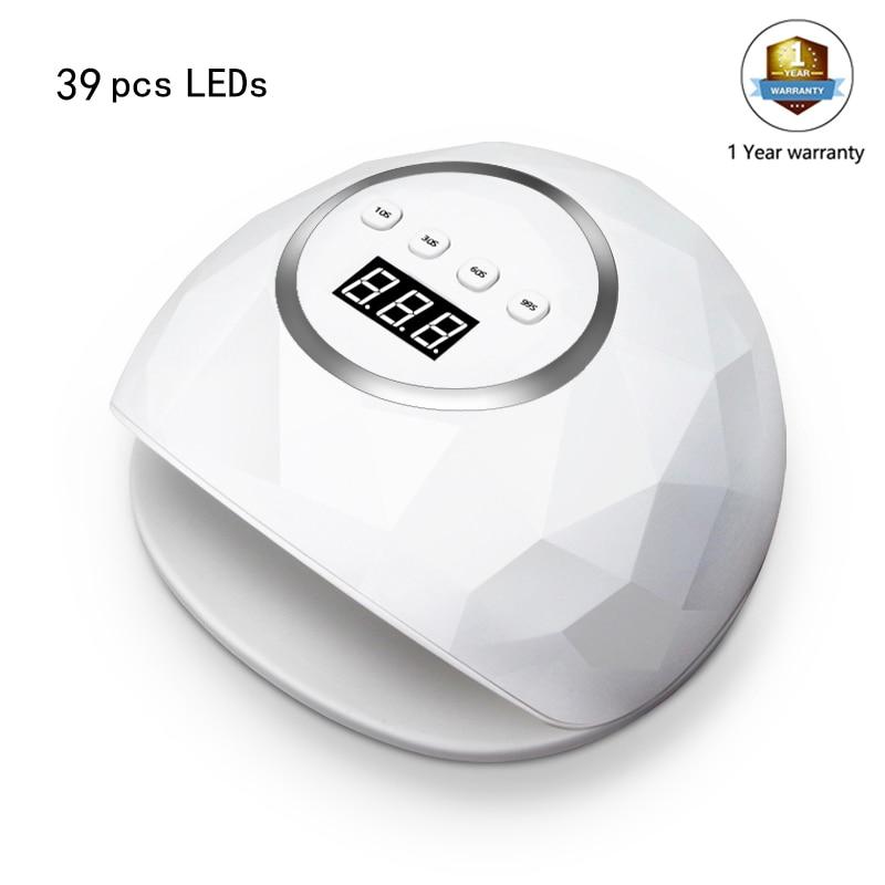 39 / 24 UV Lamp Nail Dryer LCD Display UV LED Gel Nail Lamp Fast Gels Nail Polish Ice Lamp for Nail Manicure Machine with Sensor