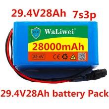 24V 28ah 7s3p 18650 батарея литиевая батарея 24v2800mah Электрический велосипед электрический скутер электрический комплект литий-ионный батарей