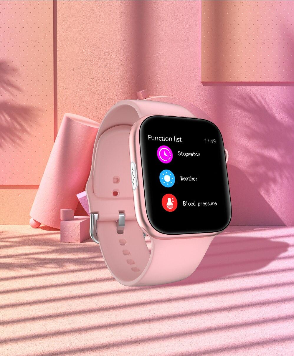 Hfda27463375b4c368257004533002266p ECG Heart Rate Monitor Smart Watch 2020 Full Touch Screen SE03