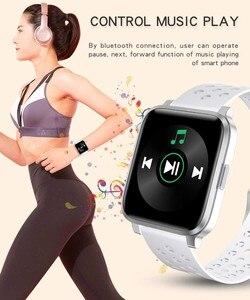 Image 5 - X3C Smart Watches IP68 impermeabile lunga durata della batteria rifiuto chiamata Fitness Tracker donna uomo sport Smartwatch per IOS Android