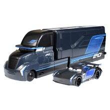 Carrinhos de brinquedo do pixar 3, carrinhos mcqueen, jackson, cruz, tio mack mater, caminhão 1:55, modelo de carro de metal menino presentes