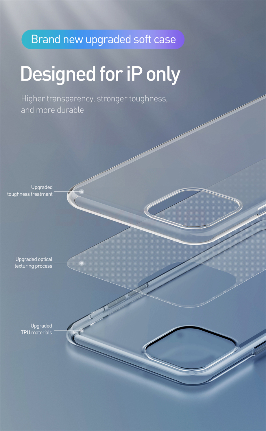 Clear iPhone 11, 11 Pro, 11 Pro Max Case 9