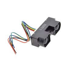100% original novo 2y0a710k 100-500cm sensor de distância infravermelho gp2y0a710k0f com cabo
