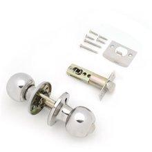 Прочная сферическая нержавеющая сталь и медный материал дверная ручка набор защелок