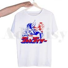 Grandizer japão robô anime goldorak goldrake t camisa masculina de manga curta engraçado harajuku camiseta topos masculino streetwear