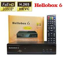 Hellobox 6 Comptatible V5 Plus Satellite Receiver Unterstützung H.265 HEVC Multi stream USB WiFi Auto Powervu Biss Cline Newcamd