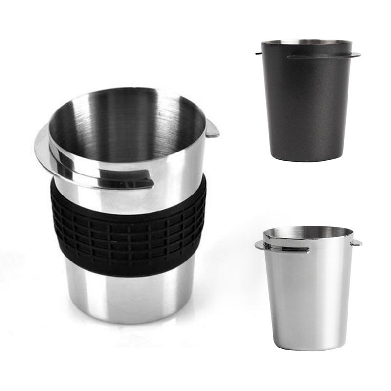 58 мм кофеварка для приготовления эспрессо Кофе ноги поставок чайная чашка Нержавеющаясталь Кофе кружка-дозатор контейнер для порошка зап...