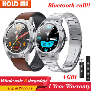 Image 1 - DT98 חכם שעון עמיד למים נשים גברים Smartwatch KSR909 עגול קצב לב מד צעדים מסר שיחת תזכורת חכם פעילות Tracker