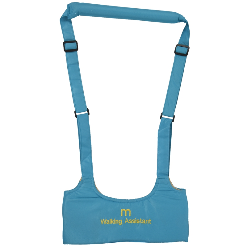 SAFETY HARNESS WITH BRACES FOR CHILDREN CHILDREN LEARN TO WALK NEW Color:Sky-Blue