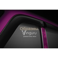 Window deflectors vinguru Ford Transit 2014-present. \/Box\/false\/adhesive tape