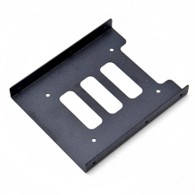 Полезный 2,5 дюймовый SSD HDD до 3,5 дюймов металлический монтажный адаптер Кронштейн Док-станция Держатель для жесткого диска для ПК корпус жесткого диска