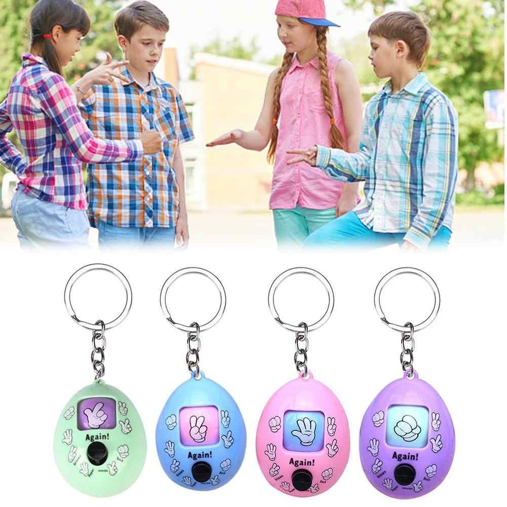 Brinquedos de dedo inovador chaveiro brinquedo romance crianças dedo-adivinhação jogo com anel chave jogo de treinamento cérebro brinquedo engraçado para crianças