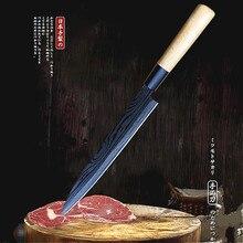 9.2'Japanese fish head knife professional fish knife salmon sashimi knife knife edge lee sushi knife kitchen knife fruit knife недорого