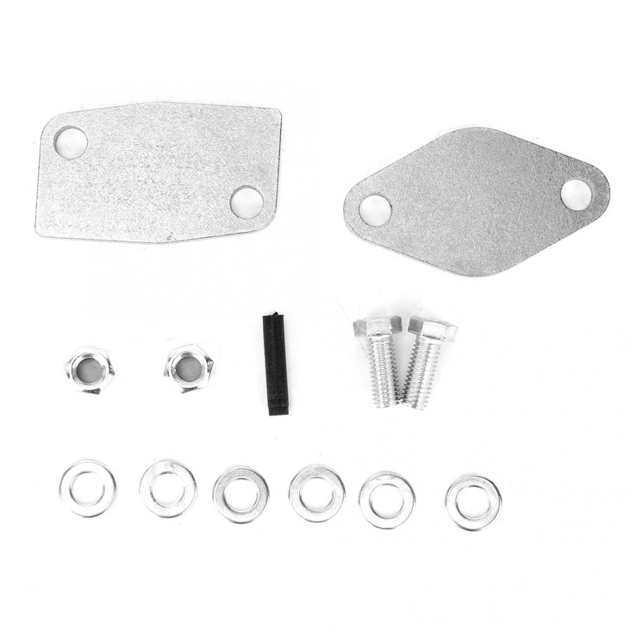 EGR Removal Kit Blanking Block Plates 985984415261 Fits For Mitsubishi Delica/Pajero Aluminum  EGR Delete Kit Car Accessories