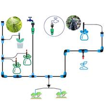 "Get more info on the 20m 3/8"" Hose Irrigation Kit,Patio Plant Watering Kit Garden Mist Cooling Irrigation System Automatic Micro Flow Drip Watering"