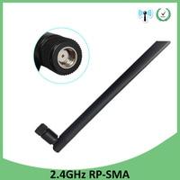 booster antenne wifi 2.4GHz antenn 5dBi אוויר RP-SMA מחבר Antena 2.4G Antenne wi fi Antenas wifi אנטנות Booster Wifi נתב אלחוטי (1)